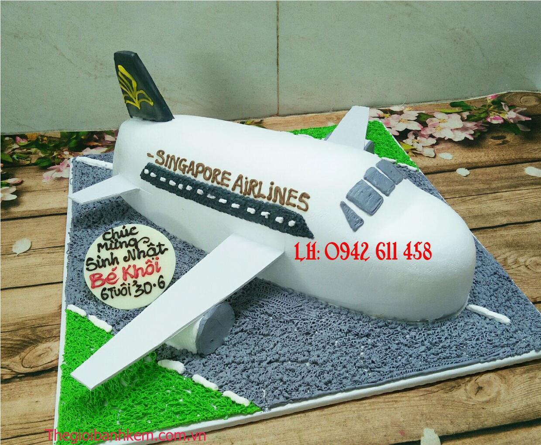 Bánh kem máy bay singapore Mã B5439