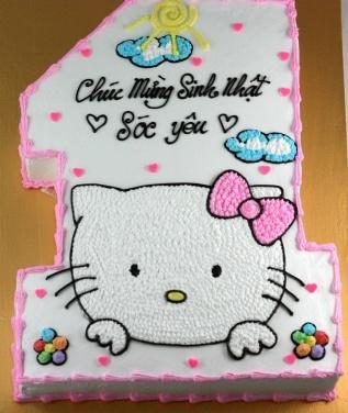 Bánh hình Kitty mã B198