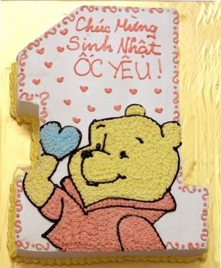Bánh gấu Pooh mã B199