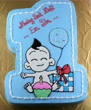 Bánh sinh nhật bé mã B202