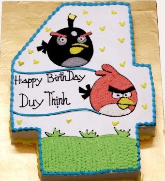 Bánh đôi bạn Angry Bird mã B259