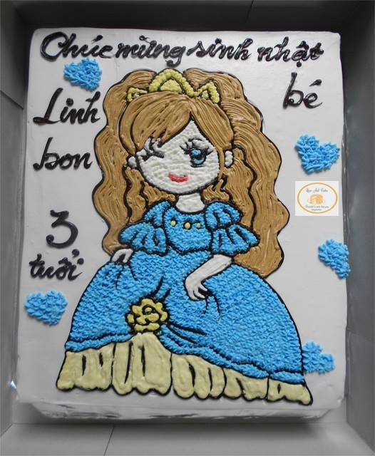 Bánh công chúa mã B390