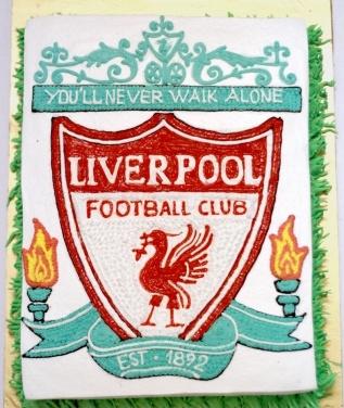 Bánh logo Liverpool mã B4707