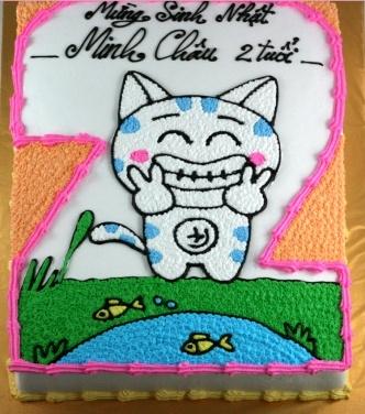 Bánh hình con mèo mã B1914