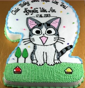 Bánh con mèo mã B1917