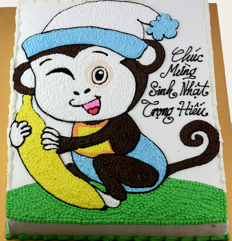 Bánh khỉ ôm chuối mã B1947