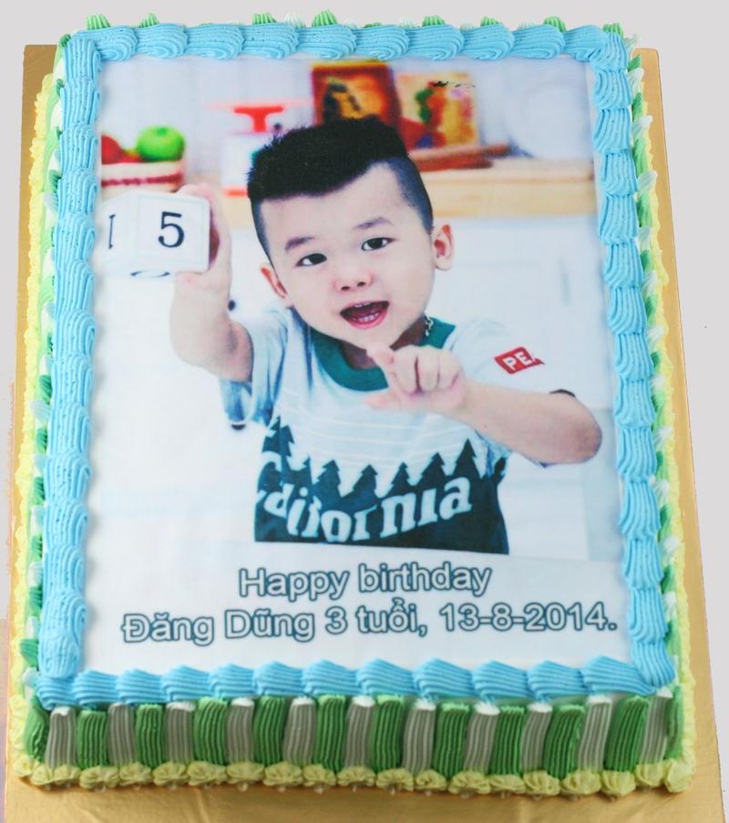 Bánh sinh nhật in ảnh mã B1113