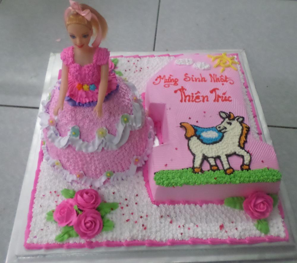 Bánh sinh nhật công chúa B4731