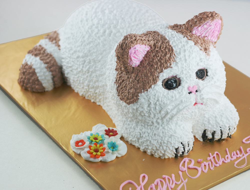 Bánh hình con mèo mã B1751
