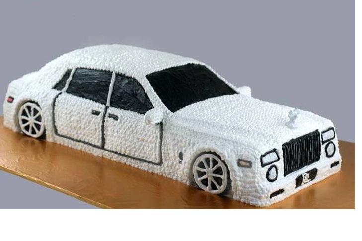 Bánh kem ô tô Mã B400