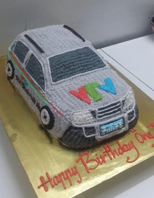 Bánh kem ô tô B408