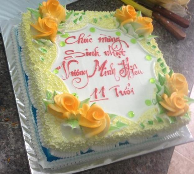 Bánh sinh nhật Mã B5463