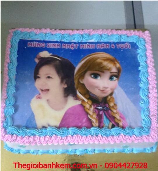Bánh sinh nhật Anna và bé gái Mã B1892