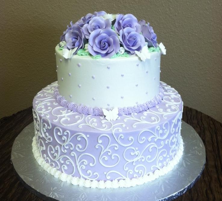 Bánh sinh nhật 2 tầng Mã B2308