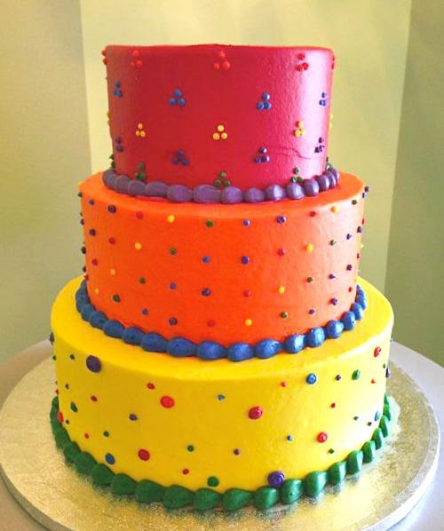 Bánh kem sinh nhật 3 tầng mã B2309