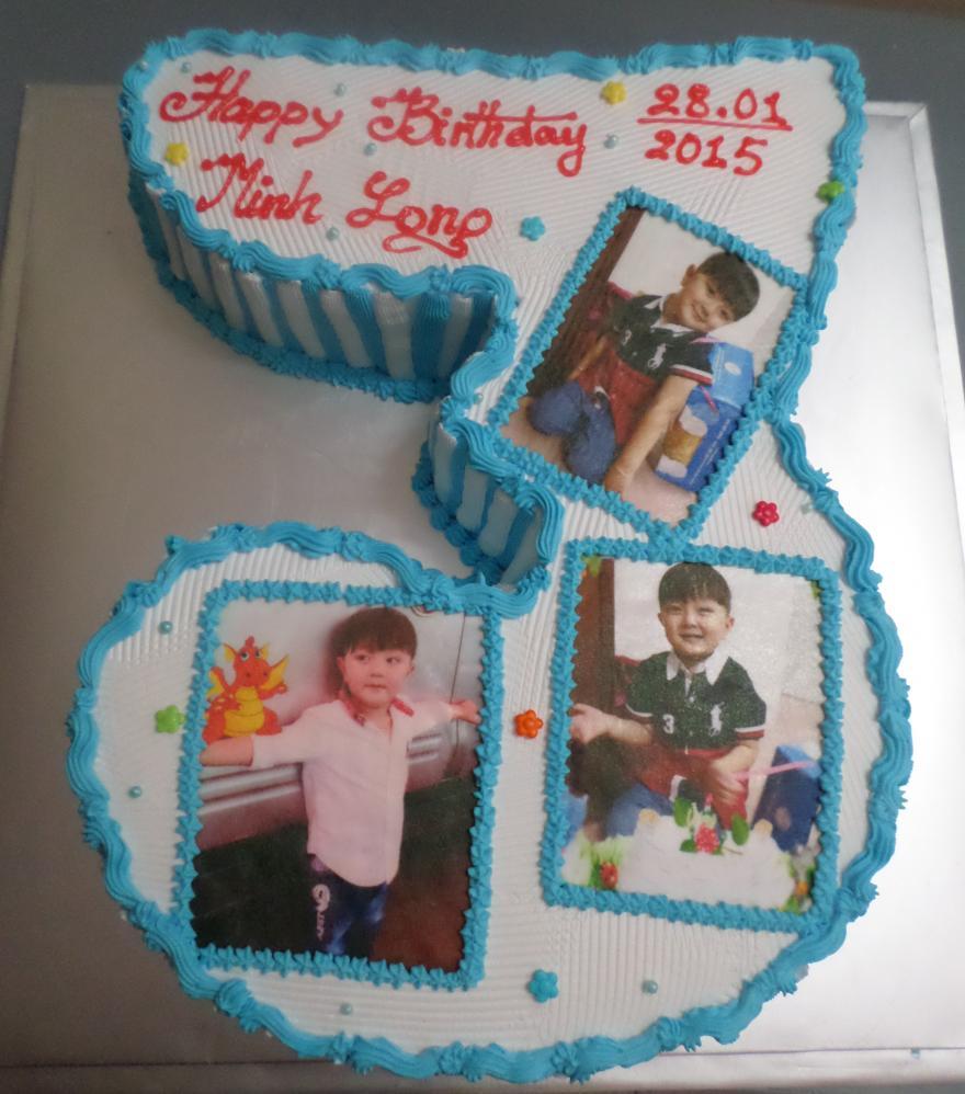 Bánh sinh nhật in ảnh B1256