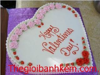 Bánh sinh nhật hình trái tim Mã B106