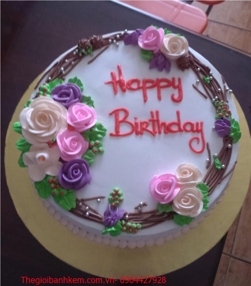 Bánh sinh nhật Mã B1049