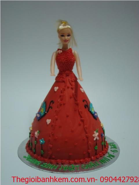 Bánh sinh nhật công chúa 3D Mã B1222