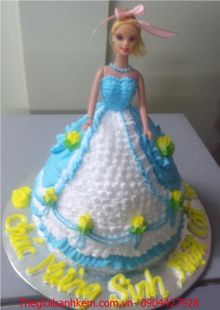 Bánh sinh nhật công chúa 3D Mã B2642