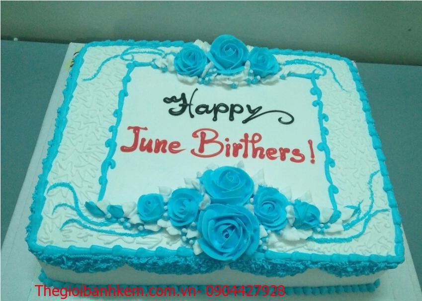 Bánh kem sinh nhật Mã B0907
