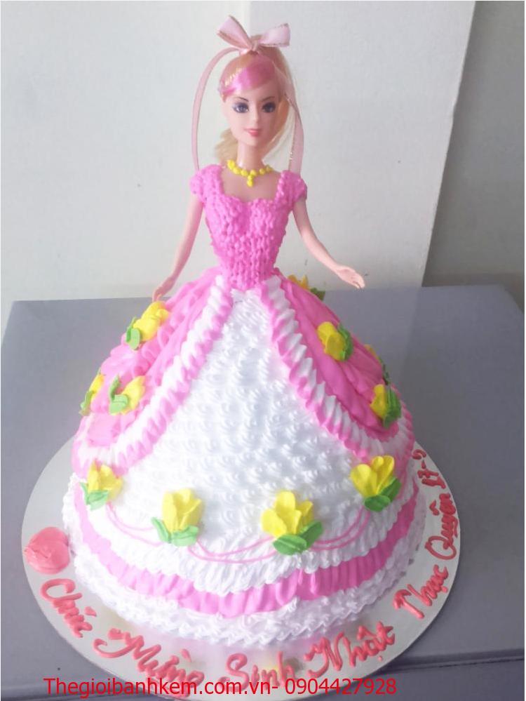 Bánh sinh nhật công chúa 3D Mã B2644