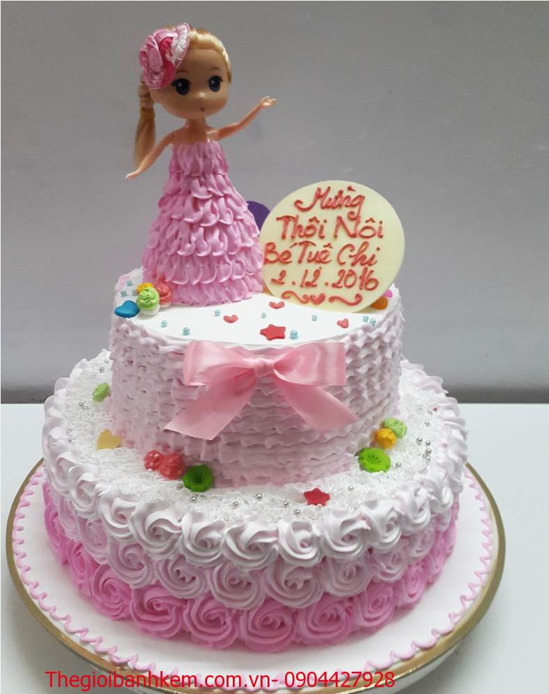 Bánh sinh nhật công chúa Mã B3507