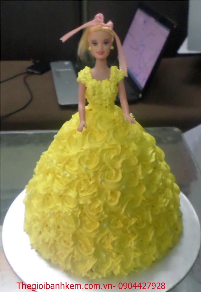 Bánh công chúa 3D Mã B2507