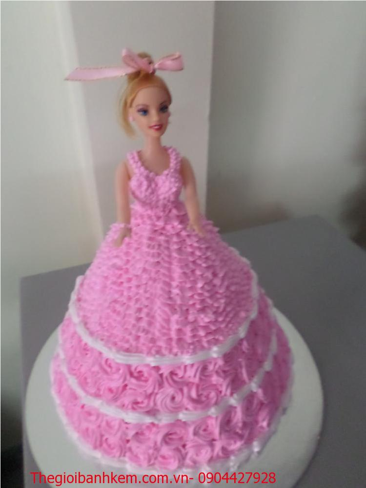 Bánh sinh nhật công chúa 3D Mã B4407