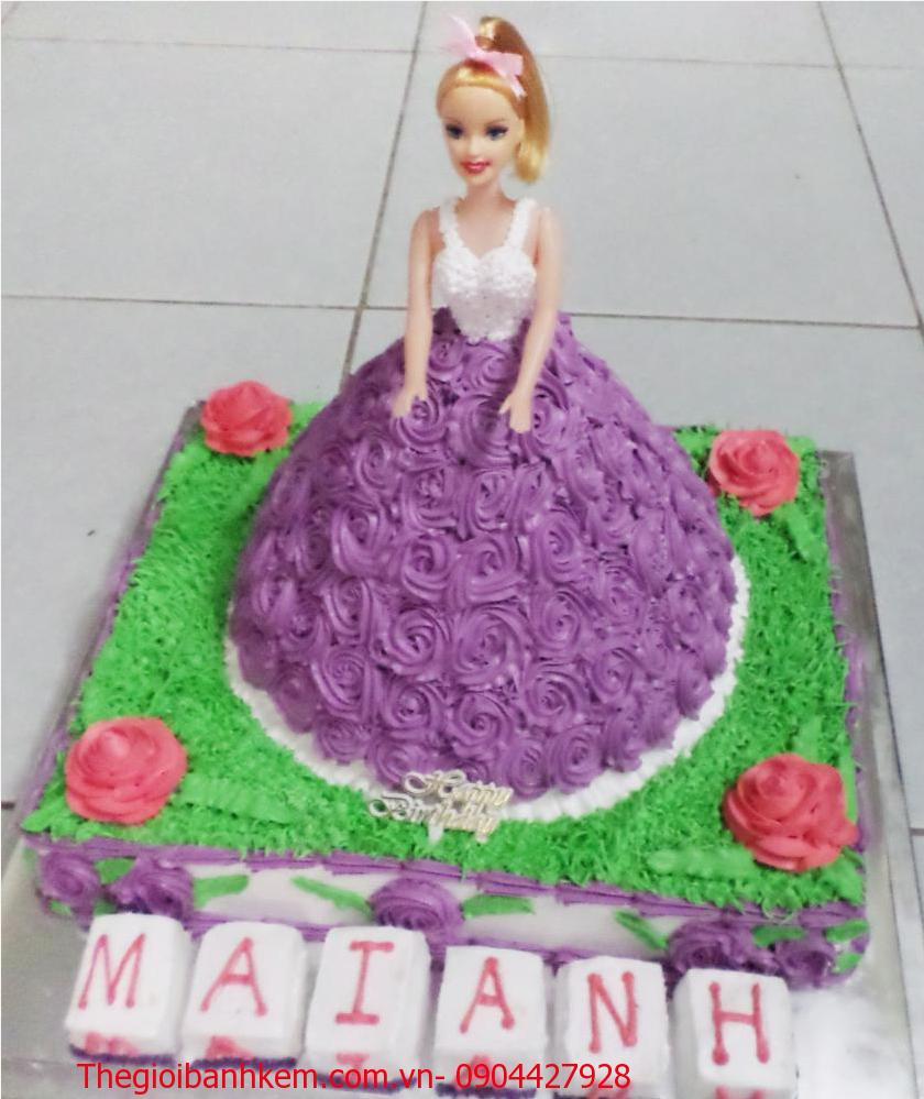 Bánh sinh nhật công chúa Mã B3007