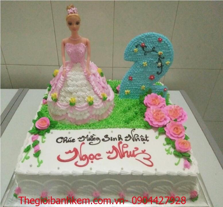 Bánh sinh nhật công chúa Mã B5507