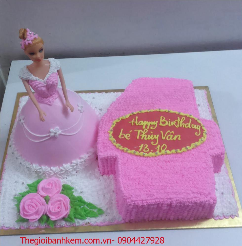 Bánh kem công chúa Mã B5407