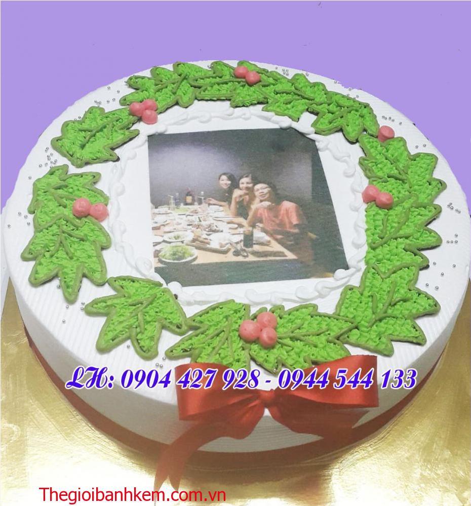 Bánh kem in ảnh Mã B2134