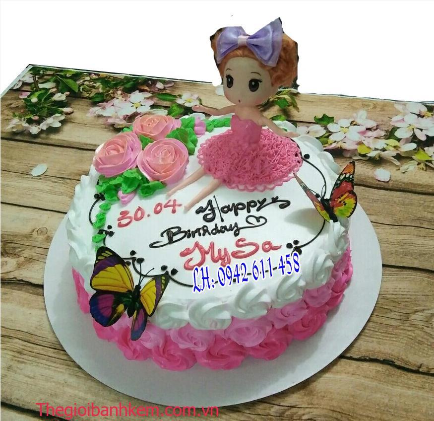 Bánh kem công chúa Mã B1484