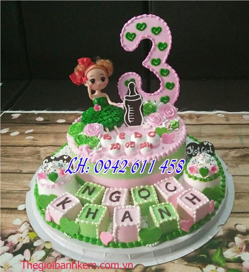 Bánh sinh nhật công chúa Mã B1495