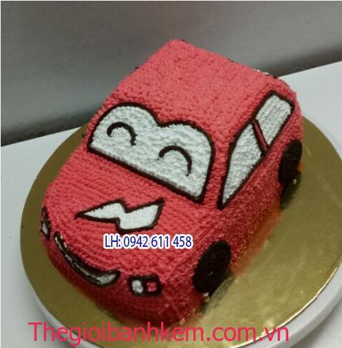 Bánh sinh nhật ô tô Mã B1502