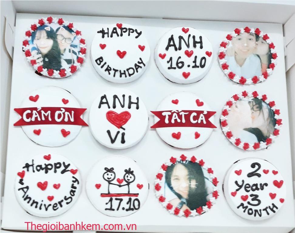 Bánh cupcake Mã CC24