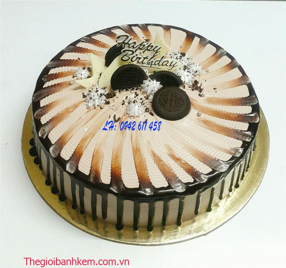 Bánh kem socola Mã B5388