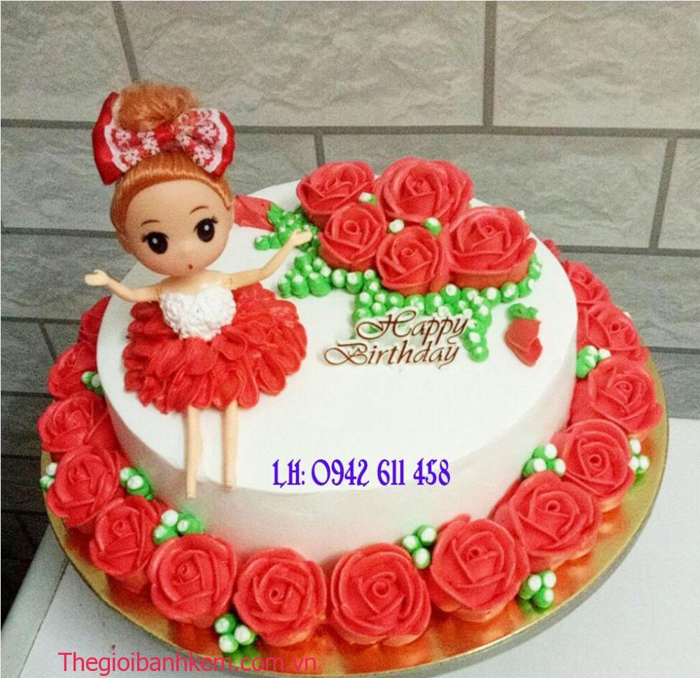 Bánh kem công chúa Mã B5434